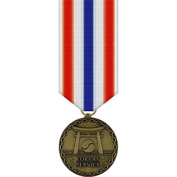 Merchant Marine Korean Service Miniature Medal