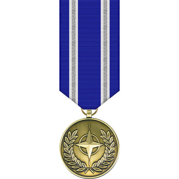 NATO Training Mission Iraq Miniature Medal