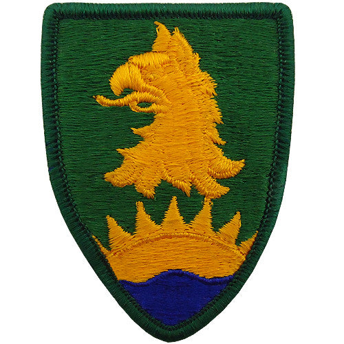221st Military Police Brigade Class A Patch