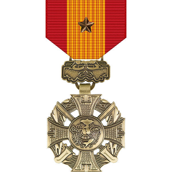 Republic of Vietnam Gallantry Cross Medal w/ Bronze Star