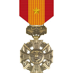 Republic of Vietnam Gallantry Cross Medal w/ Gold Star