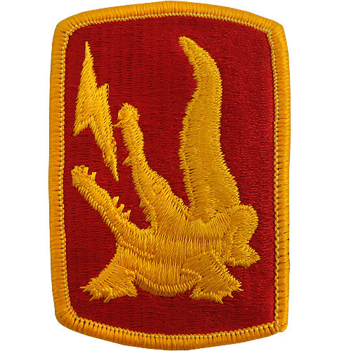 227th Field Artillery Brigade Class A Patch