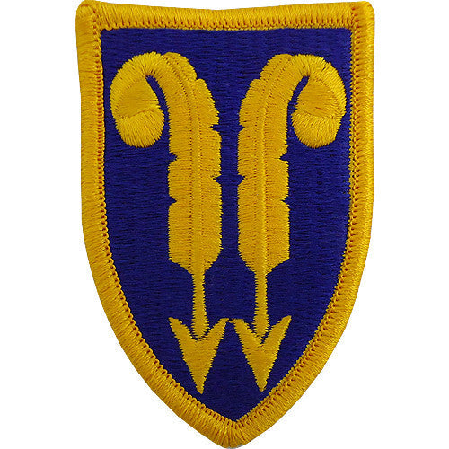 22nd Support Brigade Class A Patch