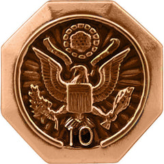 10-Year Federal Length of Service Lapel Pin