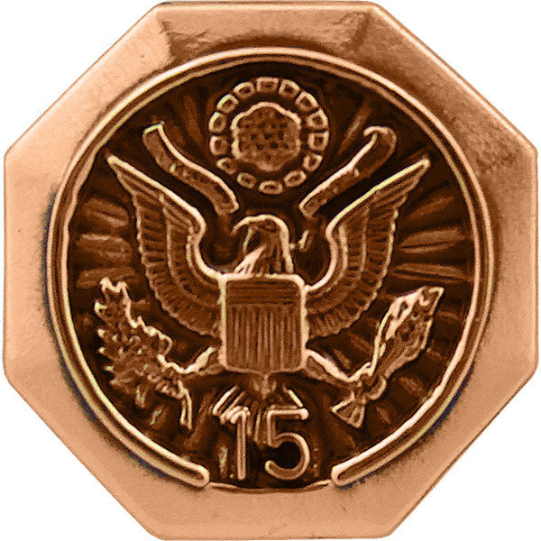 15-Year Federal Length of Service Lapel Pin