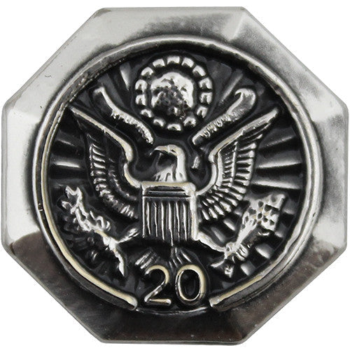 20-Year Federal Length of Service Lapel Pin