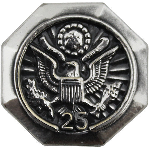 25-Year Federal Length of Service Lapel Pin