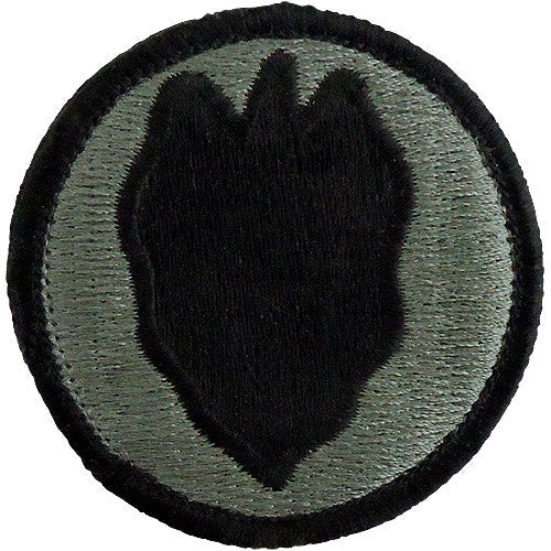 24th Infantry Division ACU Patch