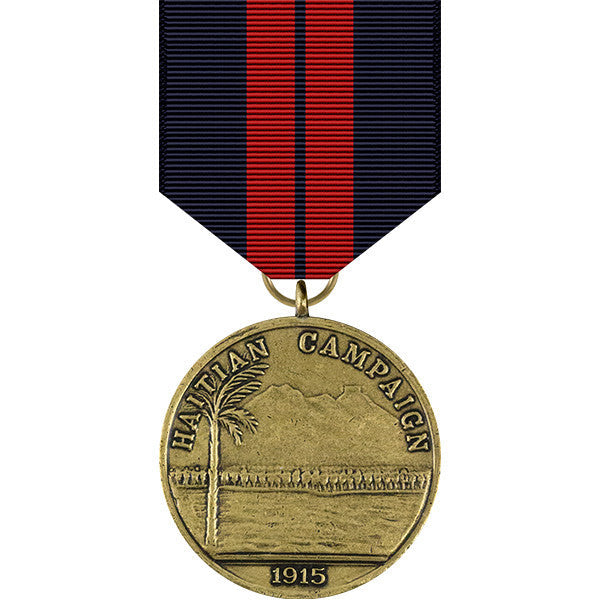First Haitian Campaign Medal - Marine Corps