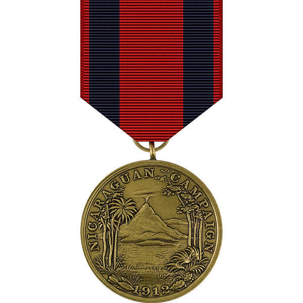 First Nicaraguan Campaign Medal - Navy