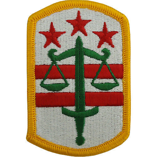 260th Military Police Brigade Class A Patch