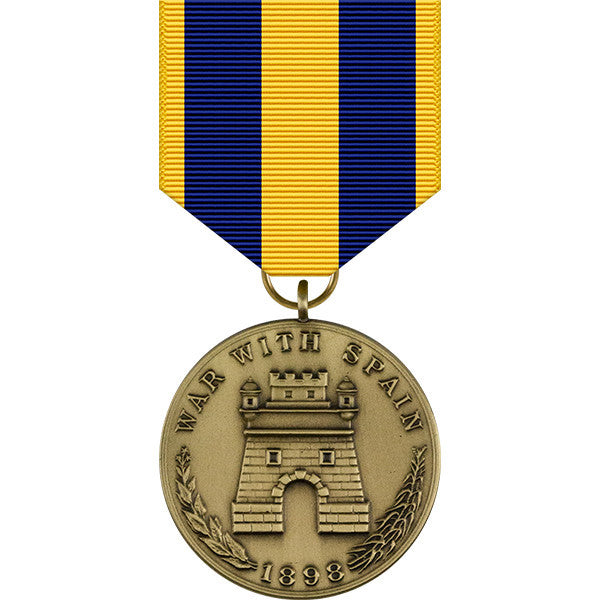 Spanish Campaign Medal - Army