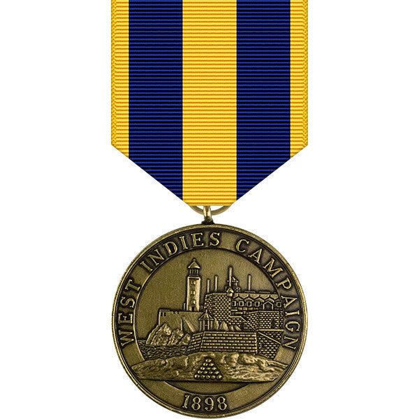 West Indies Campaign Medal - Navy