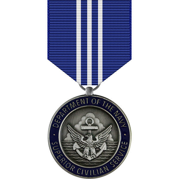 Navy Superior Civilian Service Award Medal