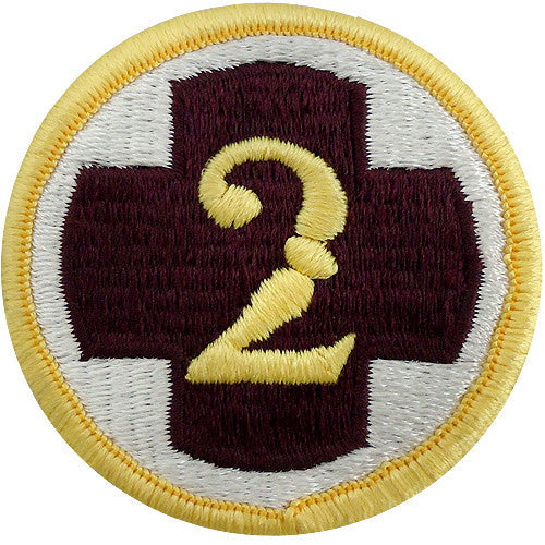 2nd Medical Brigade Class A Patch