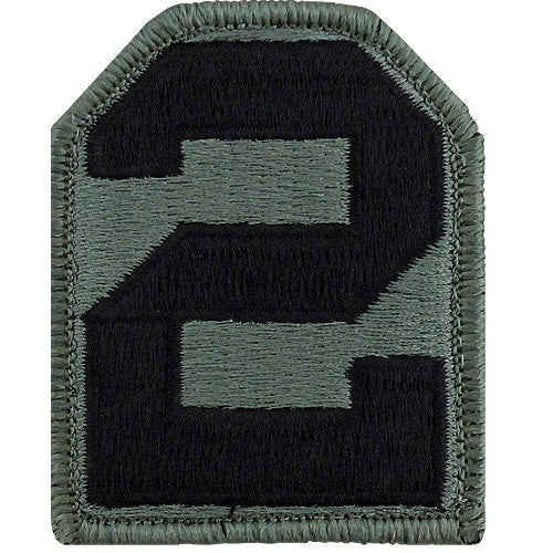 2nd Army ACU Patch