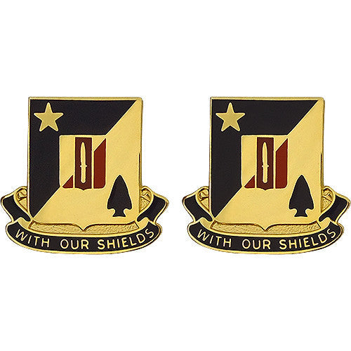 2nd Combined Arms Battalion, 5th Brigade, 1st Armored Division Unit Crest (With Our Shields)