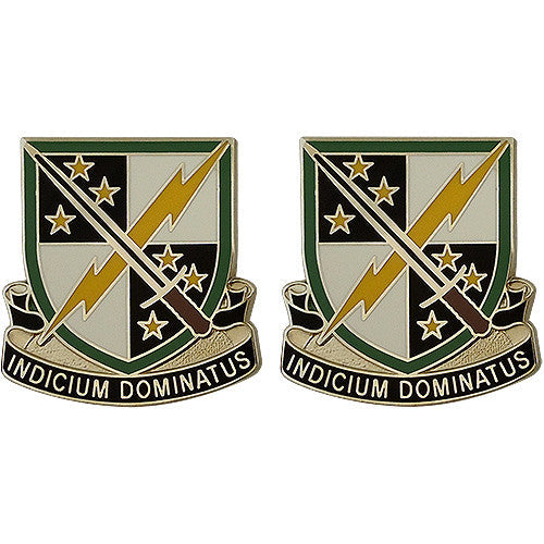 2nd Information Operations Battalion Unit Crest (Indicium Dominatus)