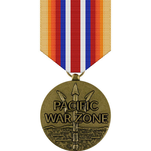 Merchant Marine Pacific War Zone Medal