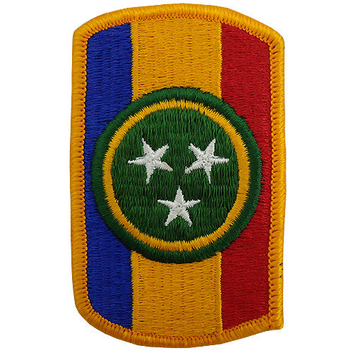 30th Armored Brigade Full Color Class A Patch