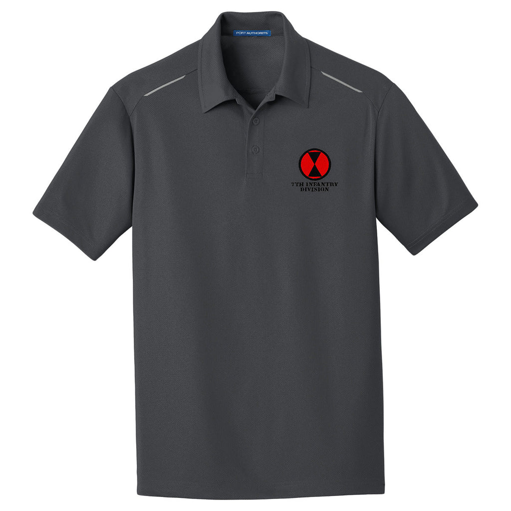 7th Infantry Division Performance Golf Polo