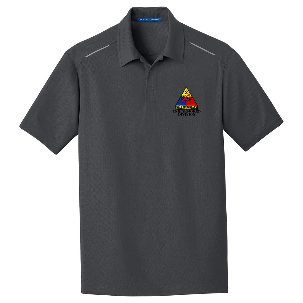 a6d61a252 2nd Armored Division Performance Golf Polo | USAMM