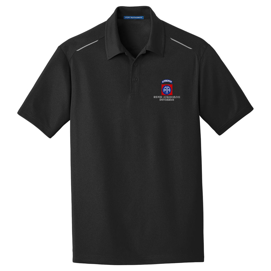 82nd Airborne Performance Golf Polo