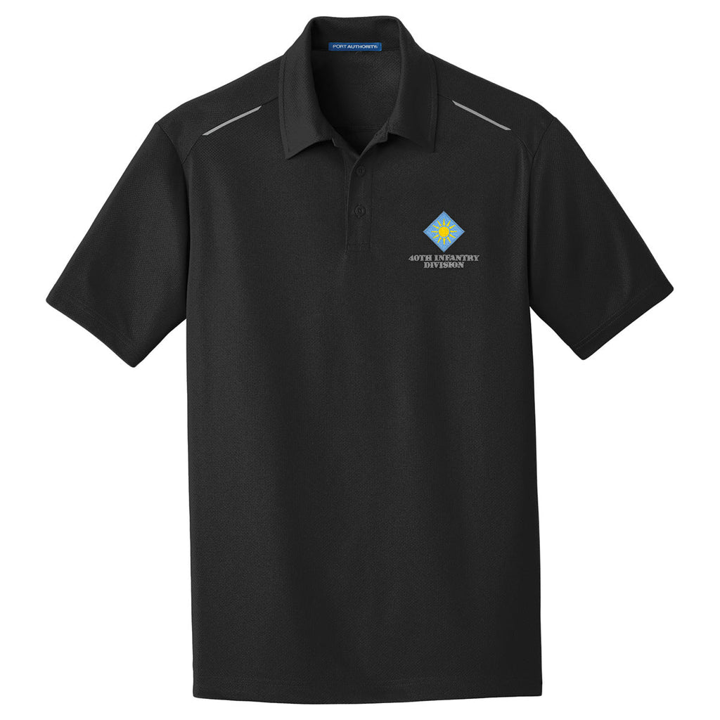 40th Infantry Division Performance Golf Polo