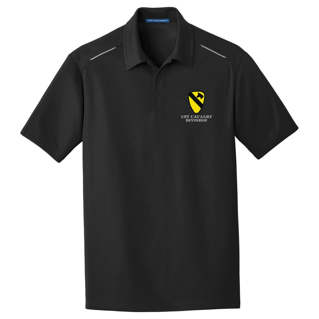 1st Cavalry Division Performance Golf Polo
