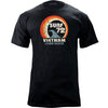Vietnam China Beach 1972 Retro Print T-Shirt