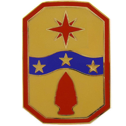 371st Sustainment Brigade Combat Service Identification Badge