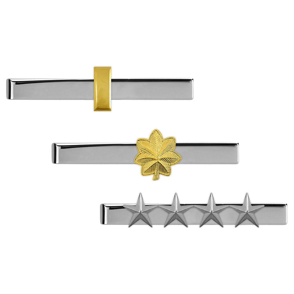 Air Force Tie Clasps Rank - Officer
