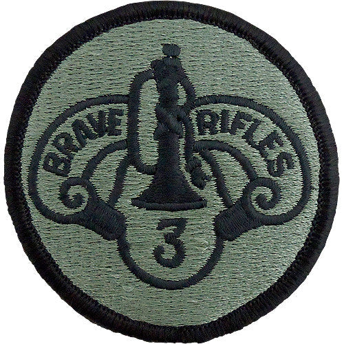 3rd ACR (Armored Cavalry Regiment) ACU Patch