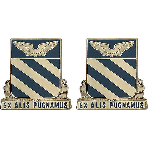 3rd Aviation Regiment Unit Crest (Ex Alis Pugnamus)