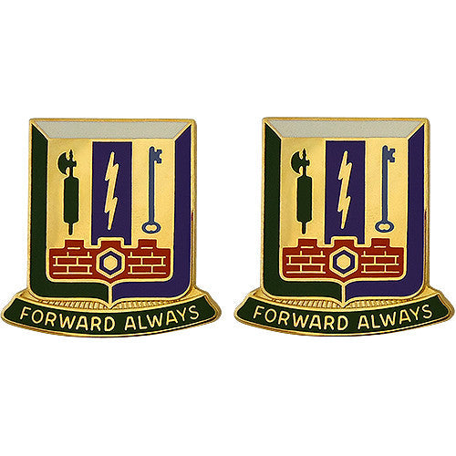 Special Troops Battalion, 3rd Brigade Combat Team, 1st Armored Division Unit Crest (Forward Always)