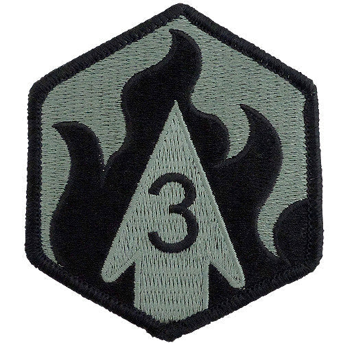 3rd Chemical Brigade ACU Patch