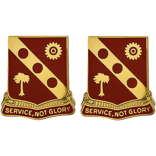 3rd Ordnance Battalion Unit Crest (Service, Not Glory)