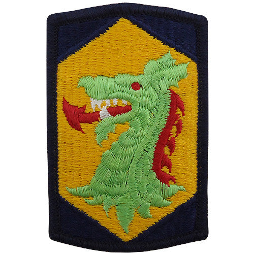 404th Chemical Brigade Class A Patch