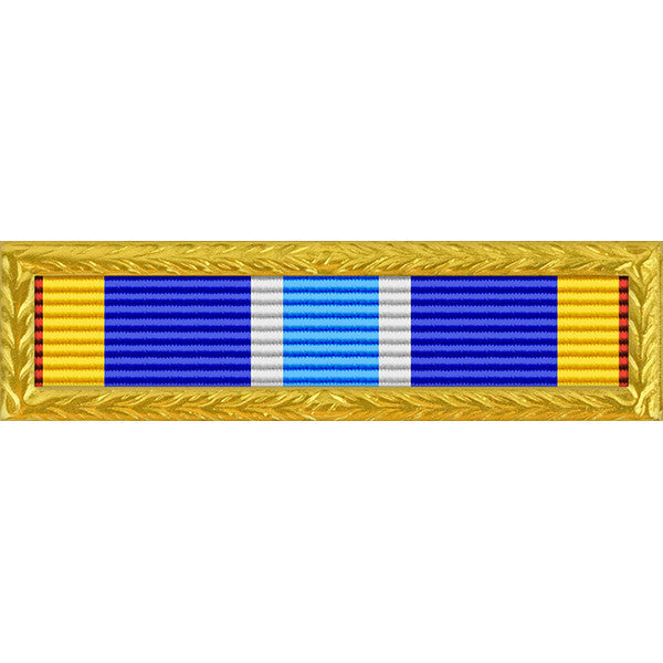 Air Force Expeditionary Service Thin Ribbon Gold Frame