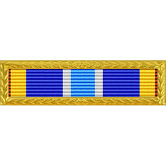 Air Force Expeditionary Ribbon With Gold Frame