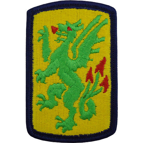 415th Chemical Brigade Class A Patch
