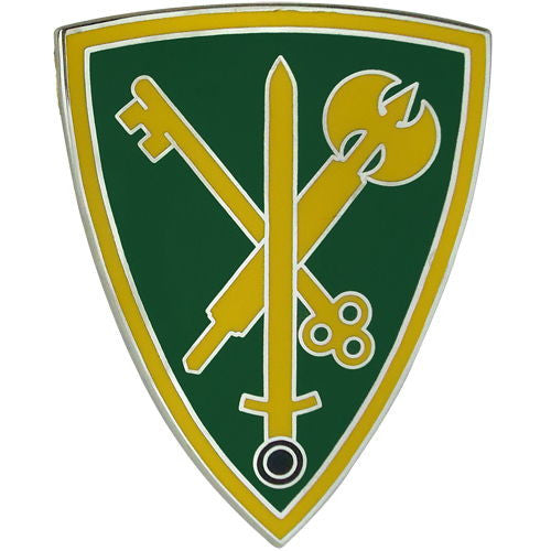 42nd Military Police Brigade Combat Service Identification Badge