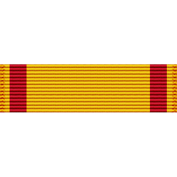 Navy China Service Medal Thin Ribbon