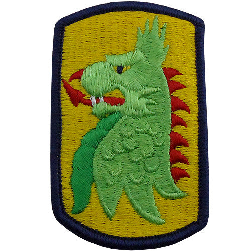 455th Chemical Brigade Class A Patch