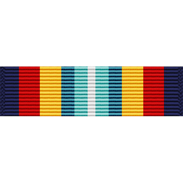 Coast Guard Sea Service Thin Ribbon