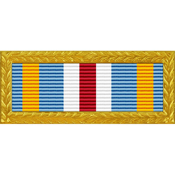 Joint Meritorious Unit Award - Thin Ribbon with Army Frame