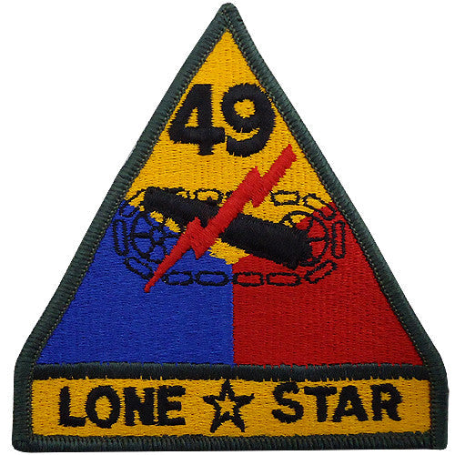 49th Armored Division Class A Patch