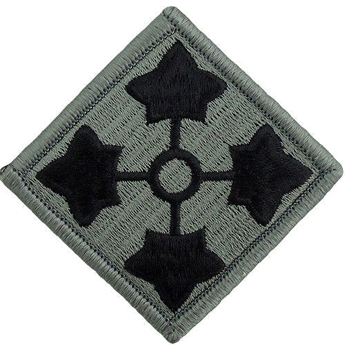 4th Infantry Division ACU Patch