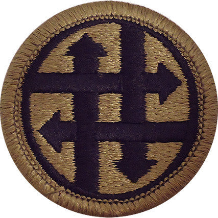 4th Sustainment Command MultiCam (OCP) Patch