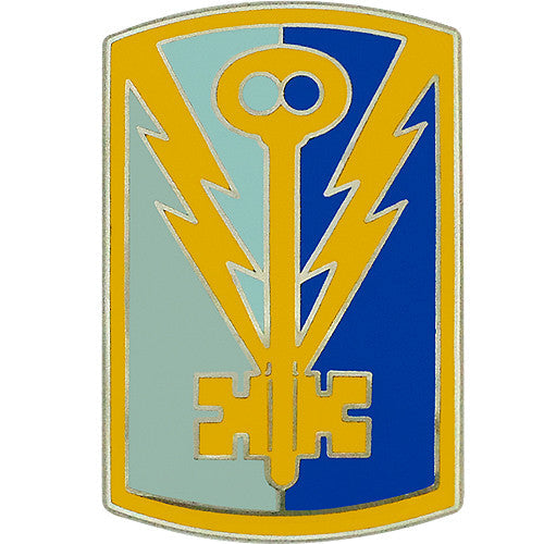 501st Military Intelligence Brigade Combat Service Identification Badge